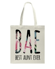 BAE BEST AUNT EVER Tote Bag thumbnail