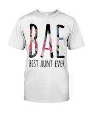 BAE BEST AUNT EVER Classic T-Shirt thumbnail