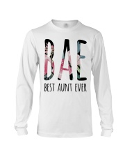 BAE BEST AUNT EVER Long Sleeve Tee thumbnail