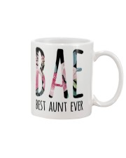 BAE BEST AUNT EVER Mug front