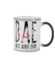 BAE BEST AUNT EVER Color Changing Mug thumbnail
