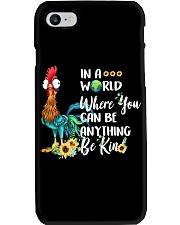 IN A WORLD WHERE YOU CAN BE ANYTHING BE KIND Phone Case thumbnail
