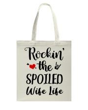ROCKIN' THE SPOILED WIFE LIFE Tote Bag thumbnail