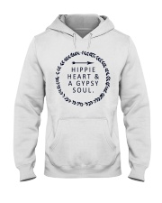 HIPPIE HEART AND A GYPSY SOUL Hooded Sweatshirt thumbnail