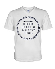 HIPPIE HEART AND A GYPSY SOUL V-Neck T-Shirt thumbnail
