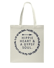 HIPPIE HEART AND A GYPSY SOUL Tote Bag thumbnail