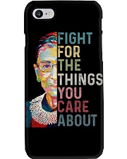 FIGHT FOR THE THINGS YOU CARE ABOUT Phone Case thumbnail