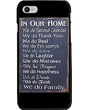 IN OUR HOME WE DO FAMILY Phone Case tile