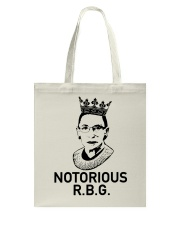 NOTORIOUS RBG Tote Bag tile