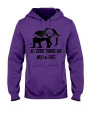 ALL GOOD THINGS ARE WILD  Hooded Sweatshirt front