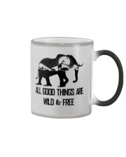 ALL GOOD THINGS ARE WILD  Color Changing Mug thumbnail