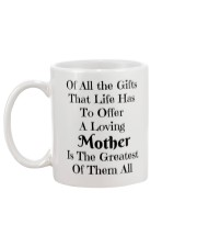 A LOVING MOTHER IS THE GREATEST OF GIFTS LIFE  Mug back