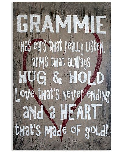 GRAMMIE HAS EARS THAT REALLY LISTEN ARMS THAT