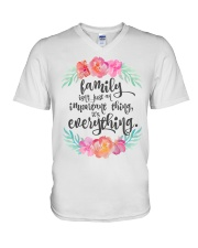 FAMILY ISN'T JUST AN IMPORTANT THING IT'S ALL V-Neck T-Shirt thumbnail