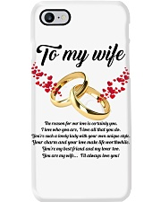 TO MY WIFE YOU'RE MY WIFE I'LL ALWAYS LOVE YOU Phone Case thumbnail