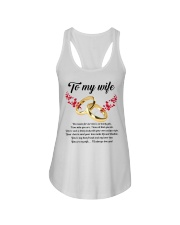 TO MY WIFE YOU'RE MY WIFE I'LL ALWAYS LOVE YOU Ladies Flowy Tank thumbnail