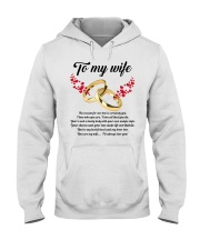 TO MY WIFE YOU'RE MY WIFE I'LL ALWAYS LOVE YOU Hooded Sweatshirt thumbnail