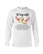 TO MY WIFE YOU'RE MY WIFE I'LL ALWAYS LOVE YOU Long Sleeve Tee thumbnail