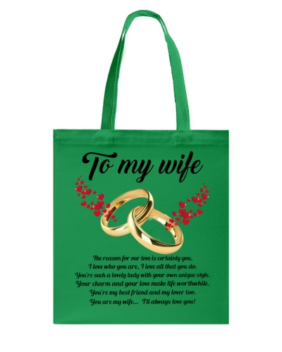 TO MY WIFE YOU'RE MY WIFE I'LL ALWAYS LOVE YOU