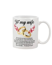 TO MY WIFE YOU'RE MY WIFE I'LL ALWAYS LOVE YOU Mug tile