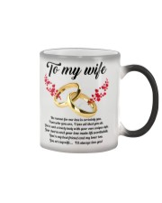 TO MY WIFE YOU'RE MY WIFE I'LL ALWAYS LOVE YOU Color Changing Mug thumbnail