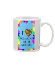 I LOVE SOMEONE WITH AUTISM Mug thumbnail