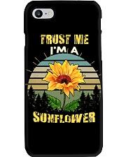 TRUST ME I'M A SUNFLOWER Phone Case thumbnail