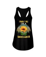 TRUST ME I'M A SUNFLOWER Ladies Flowy Tank thumbnail
