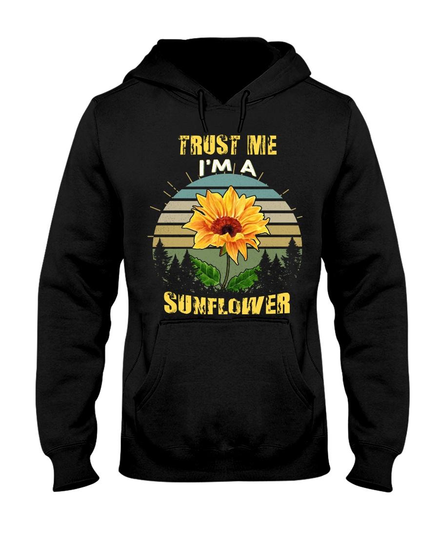 TRUST ME I'M A SUNFLOWER Hooded Sweatshirt
