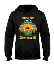 TRUST ME I'M A SUNFLOWER Hooded Sweatshirt front