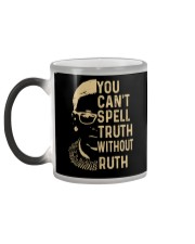 YOU CANT SPELL TRUTH WITHOUT RUTH Color Changing Mug color-changing-left