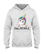 EW PEOPLE UNICORN Hooded Sweatshirt front