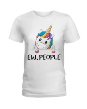 EW PEOPLE UNICORN Ladies T-Shirt thumbnail