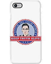 OFFICIAL RBG ORGAN DONOR KEEP TRUTH ALIVE Phone Case thumbnail