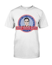 OFFICIAL RBG ORGAN DONOR KEEP TRUTH ALIVE Classic T-Shirt thumbnail