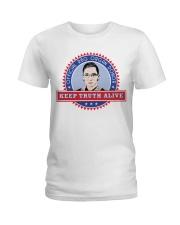 OFFICIAL RBG ORGAN DONOR KEEP TRUTH ALIVE Ladies T-Shirt thumbnail