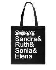 SANDRA RUTH SONIA ELENA Tote Bag thumbnail
