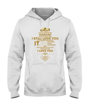 TO MY GORGEOUS HUSBAND I LOVE YOU Hooded Sweatshirt thumbnail