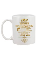TO MY GORGEOUS HUSBAND I LOVE YOU Mug back