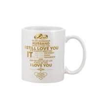 TO MY GORGEOUS HUSBAND I LOVE YOU Mug front