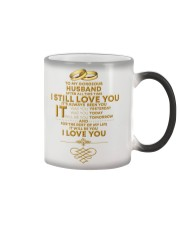 TO MY GORGEOUS HUSBAND I LOVE YOU Color Changing Mug thumbnail