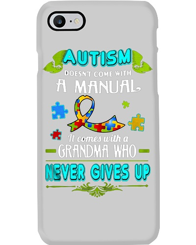 AUTISM COMES WITH A GRANDMA WHO NEVER GIVES UP