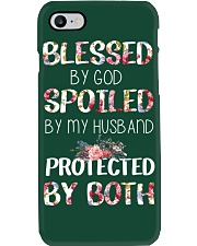 BLESSED BY GOD SPOILED BY MY HUSBAND  Phone Case i-phone-7-case
