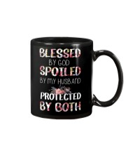 BLESSED BY GOD SPOILED BY MY HUSBAND  Mug thumbnail