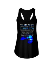 TO MY WIFE NEVER FORGET THAT I LOVE YOU Ladies Flowy Tank thumbnail