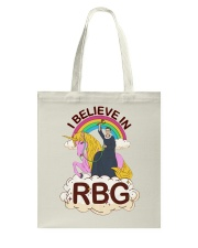 I BELIEVE IN RBG Tote Bag thumbnail