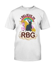 I BELIEVE IN RBG Classic T-Shirt thumbnail