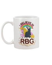 I BELIEVE IN RBG Mug back