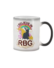 I BELIEVE IN RBG Color Changing Mug thumbnail