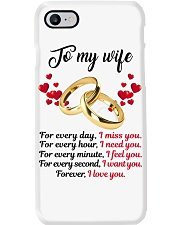 FOR EVERY DAY I MISS YOU FOR EVERY HOUR I NEED YOU Phone Case thumbnail